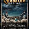 Sabaton + Korpiklaani + Tyr