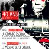 40 ans ! Vernissage de La Grande Escapade + Ciné-Concert LE MÉCANO DE LA GENERAL