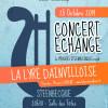 Concert échange entre harmonies