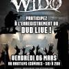 Enregistrement du DVD de Wido