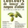Soirée de qualif' #2 Concours de lancer de noyau d'olive