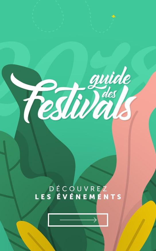 Guide des Festivals 2018
