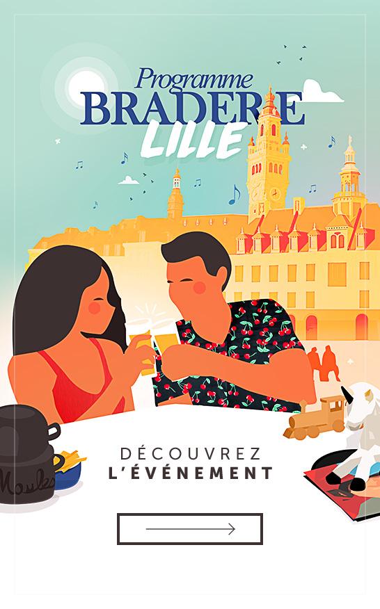 Programme de la Braderie de Lille 2017