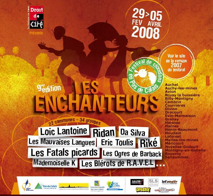 Devenez bénévoles pour le festival « Les enchanteurs »