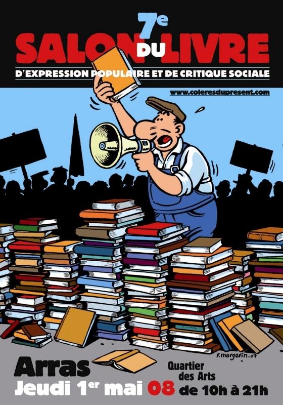 7ème salon du livre d'expression populaire et de critique sociale à Arras