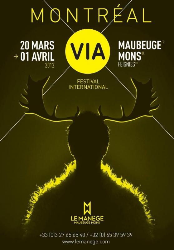 Thèmatique « Montréal » pour le festival transfrontalier Maubeuge-Mons