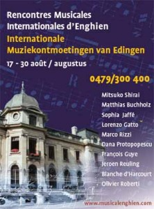 rencontre musicale internationale enghien