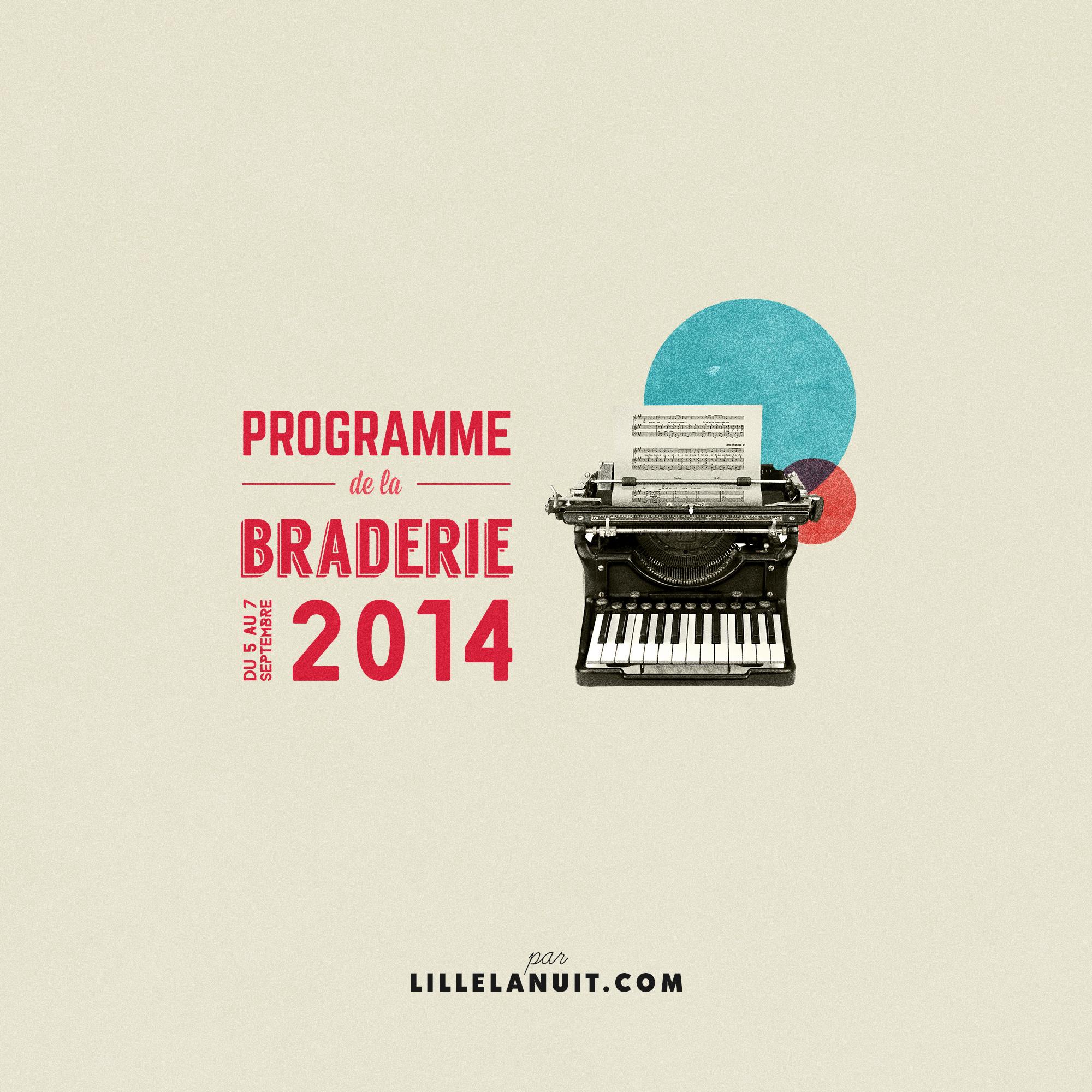 Concerts Braderie de Lille 2014 Lille La Nuit