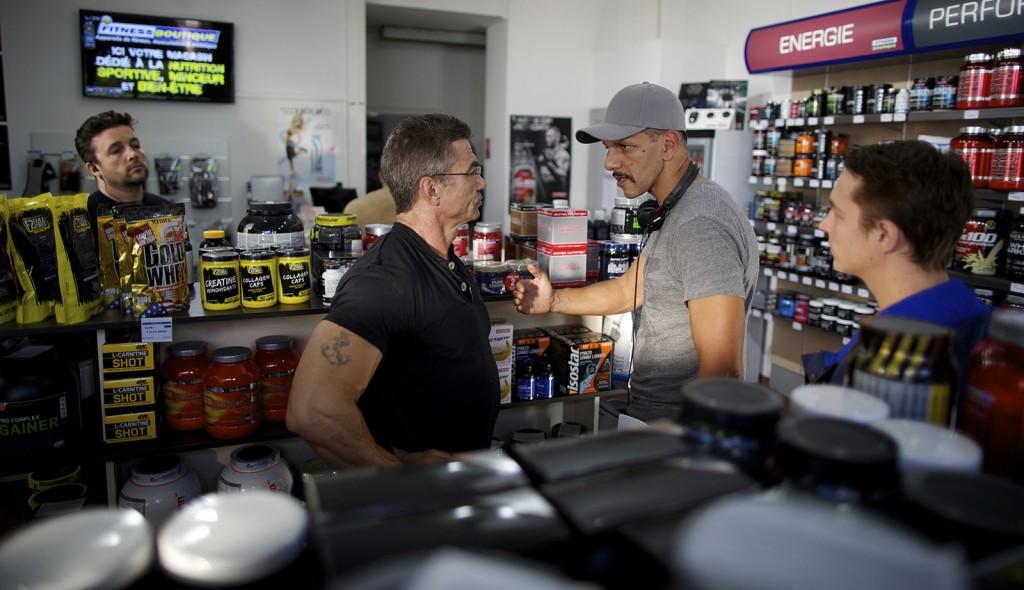 Bodybuilder: Yolin François Gauvin, la révélation du film, sous la direction de Roschdy Zem.
