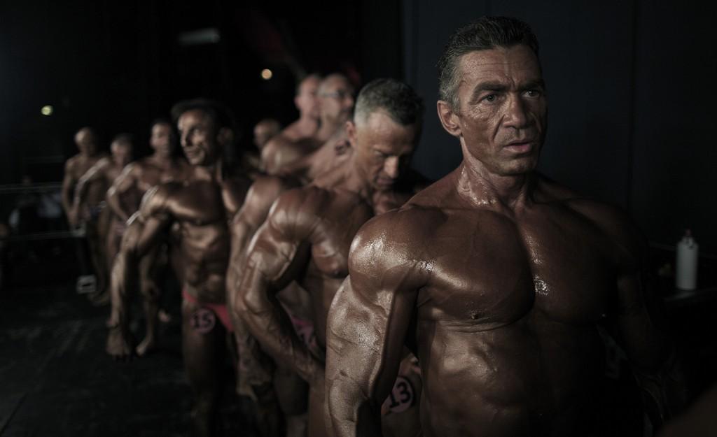 Bodybuilder: Ce n'est pas de la boxe mais eux aussi ont l'oeil du tigre !