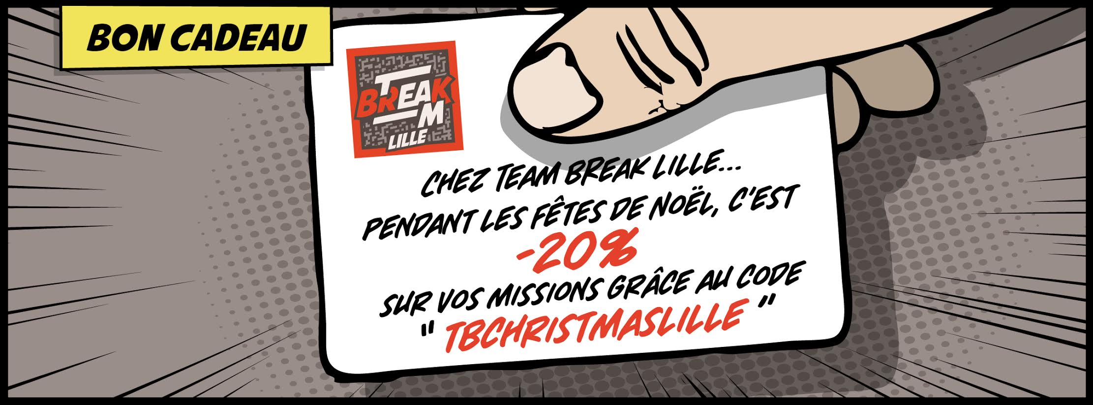Team Break - escape Game - bon kdo Noel