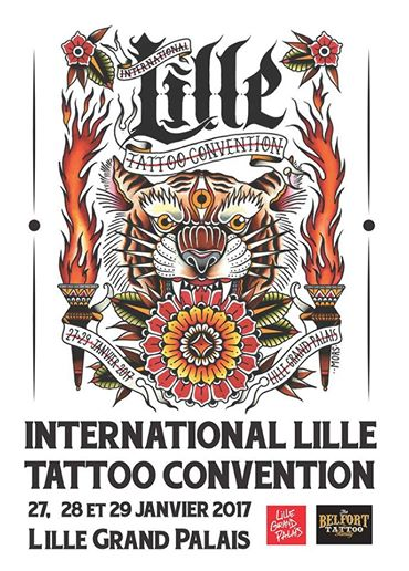 Expositions international lille tattoo convention 2017 for La tattoo convention