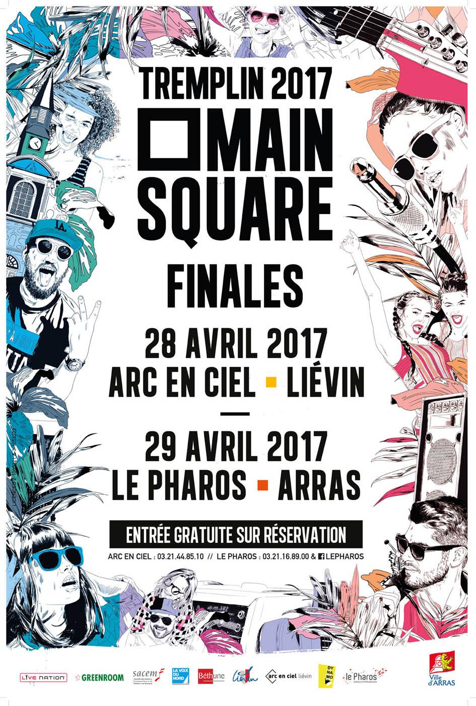 Finale tremplin Main Square 2017