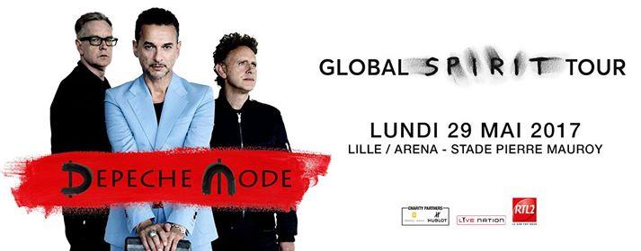 Depeche Mode – Global Spirit Tour 2017