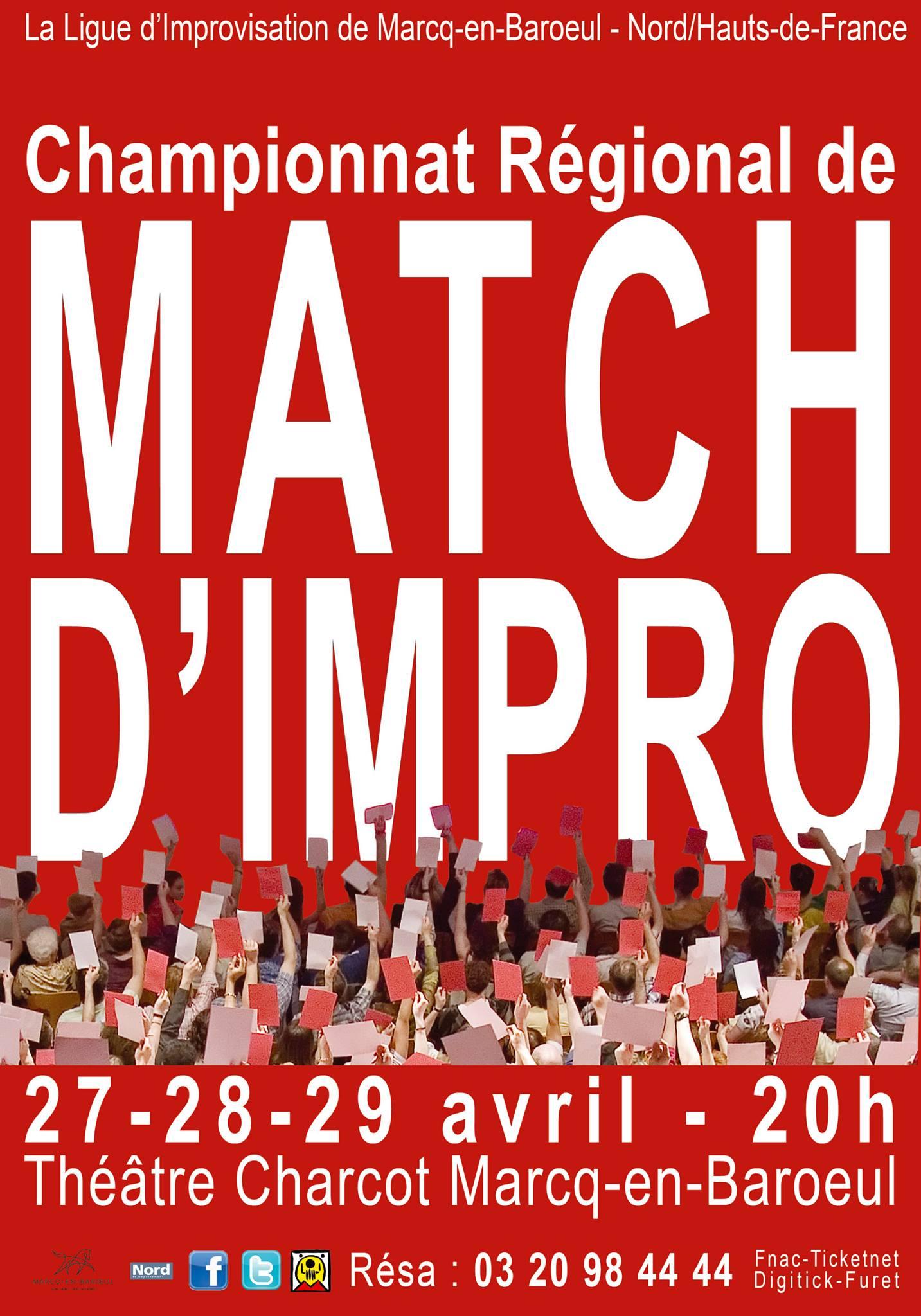 Match d'impro – Championnat Régional