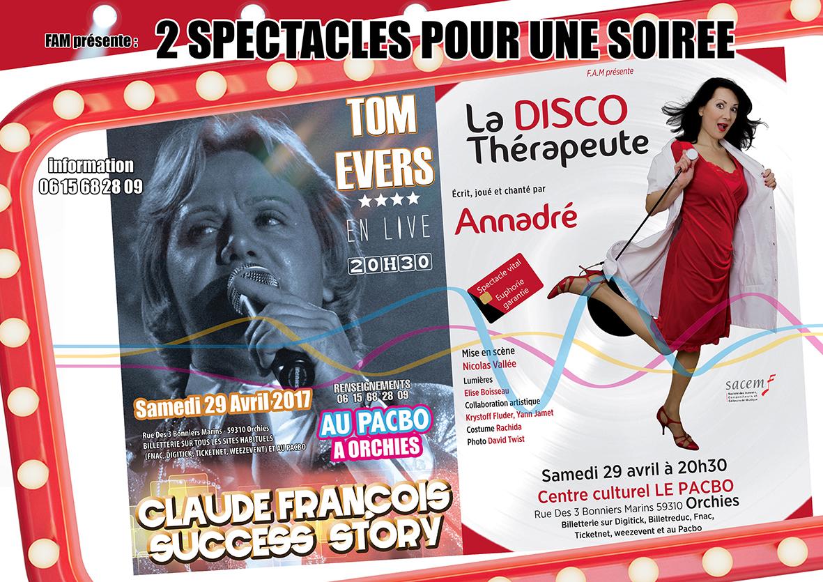Annadré + Claude François success story