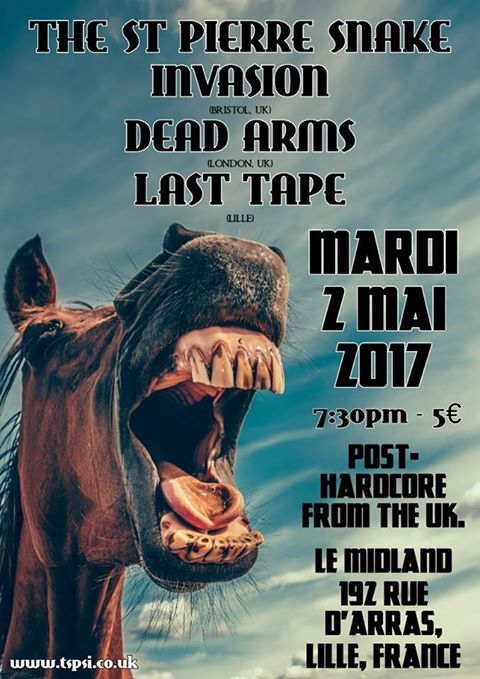 The St Pierre Snake Invasion + Dead Arms + Last Tape