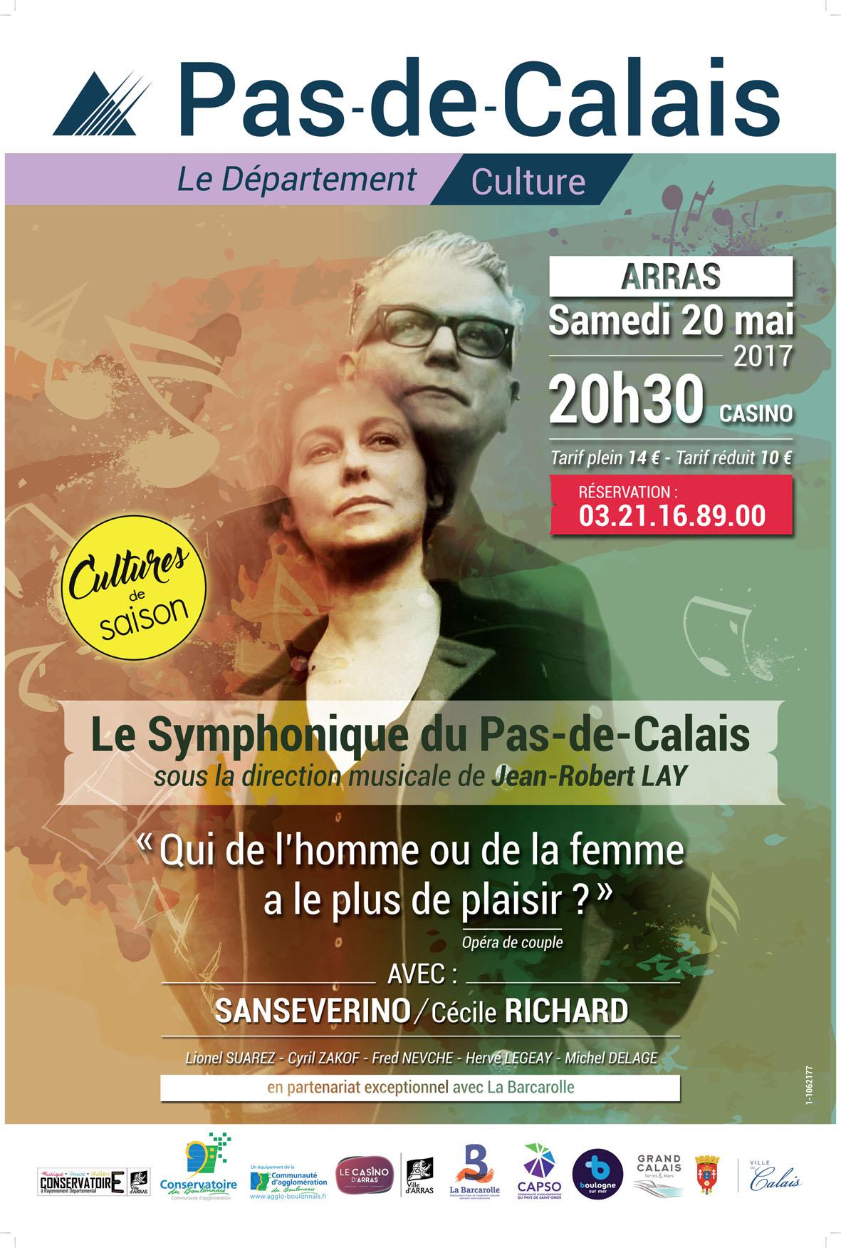 Sanseverino et le symphonique du Pas-de-Calais
