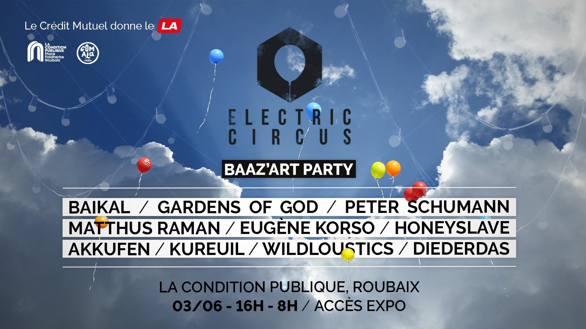 Baaz'art Party – Electric Circus