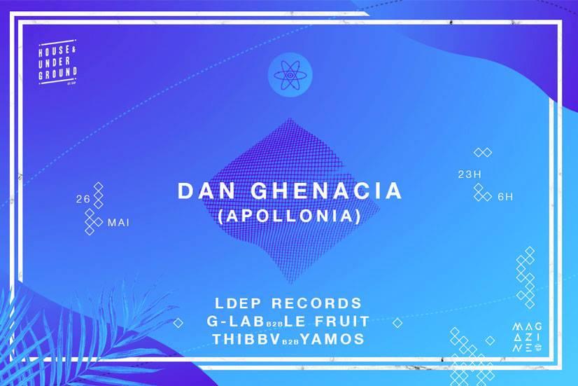 SHP invite Dan Ghenacia (Apollonia)
