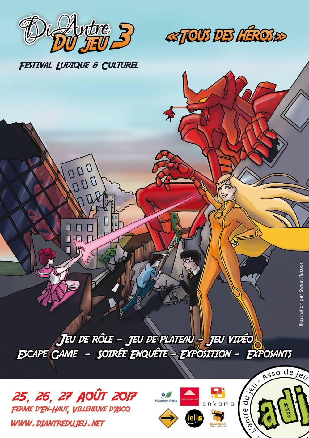 Festival DiAntre ! Du Jeu ! 2017