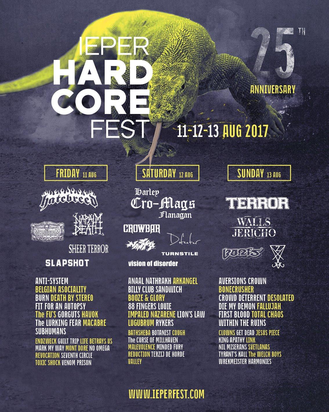 Ieper Hardcore Fest 2017