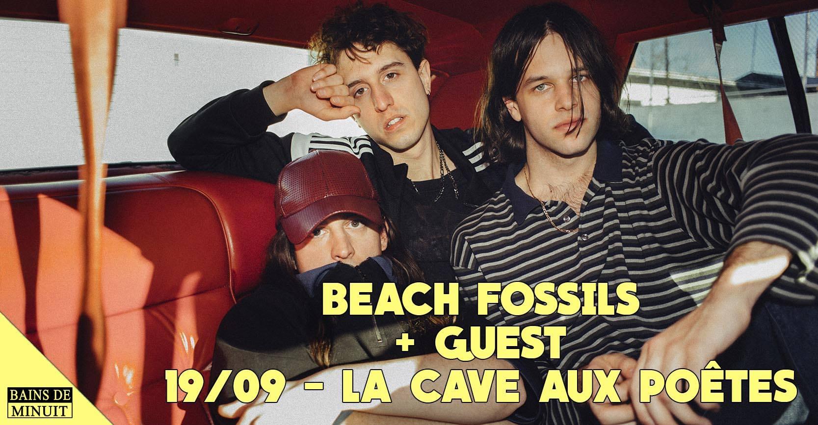Beach Fossils + Pastel Coast