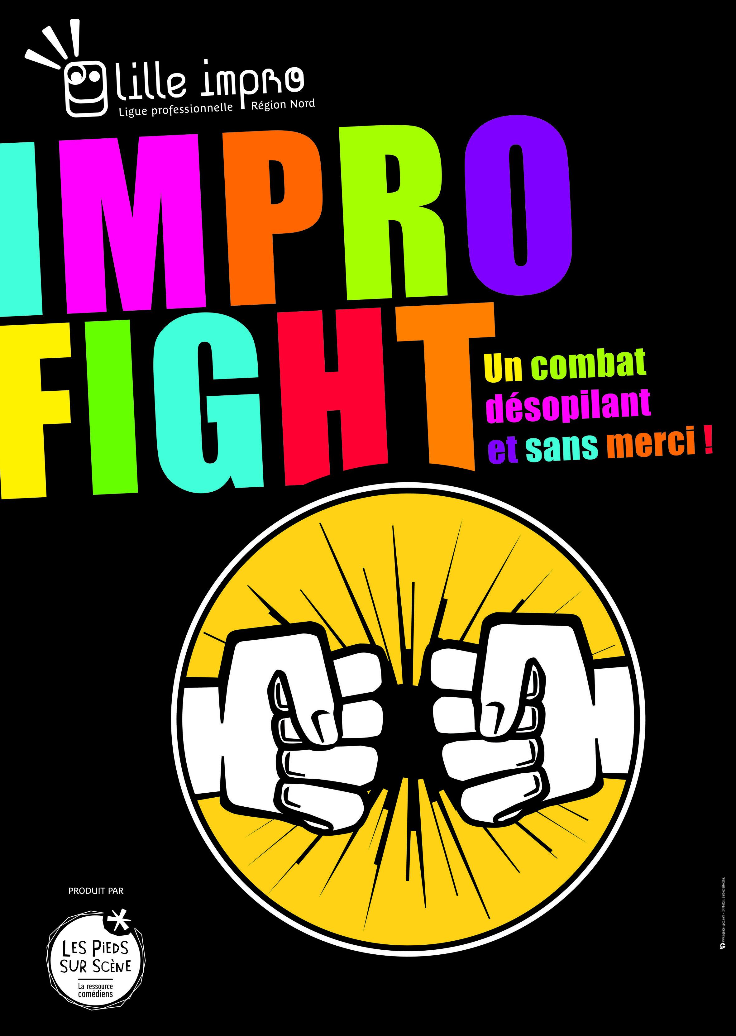 Impro fight avec Lille Impro