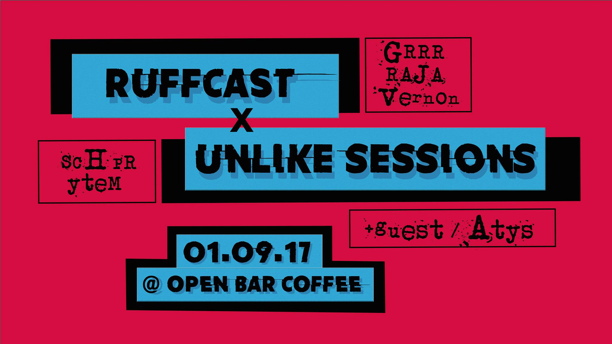 Ruffcast invite unlike sessions + atys