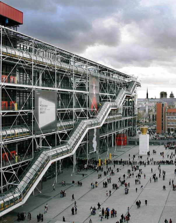 Le centre Pompidou fête ses 40 ans