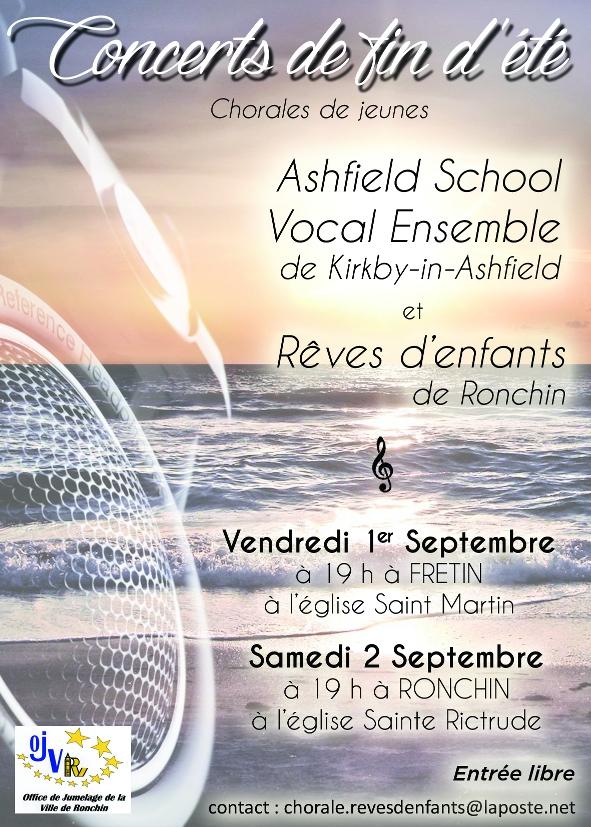 Chorales de jeunes Français/Anglais