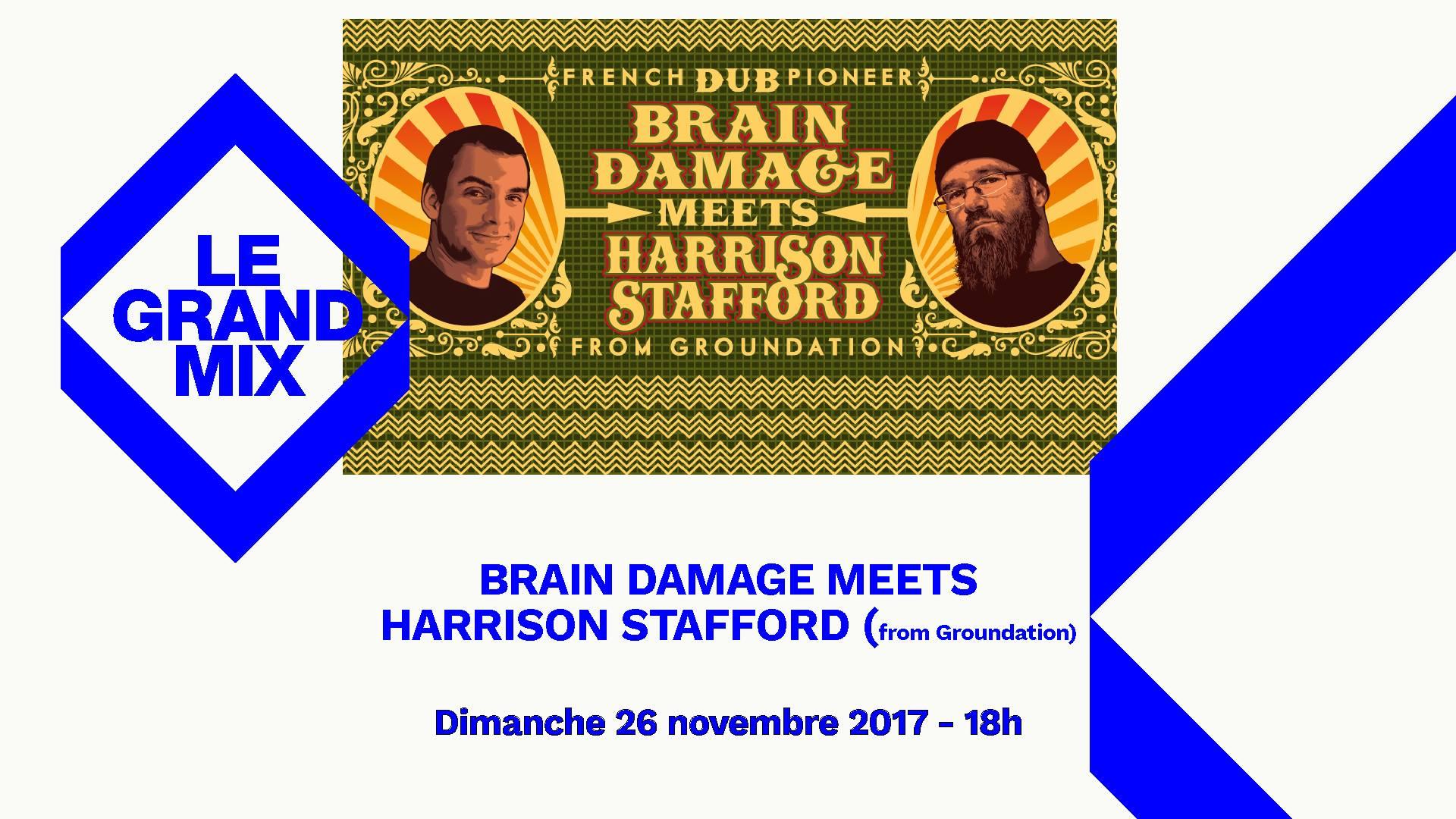Brain Damage meets Harrison Stafford