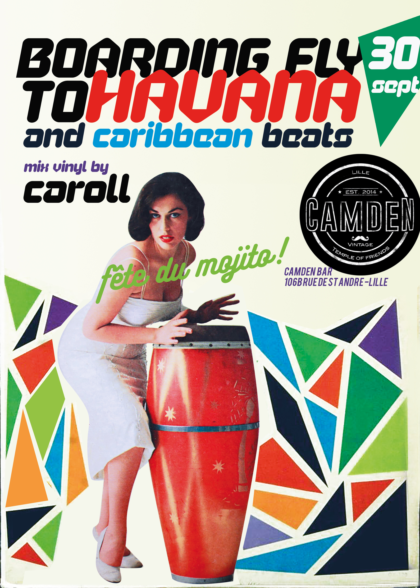 Fête du Mojito – Boarding fly to Havana mix by Caroll