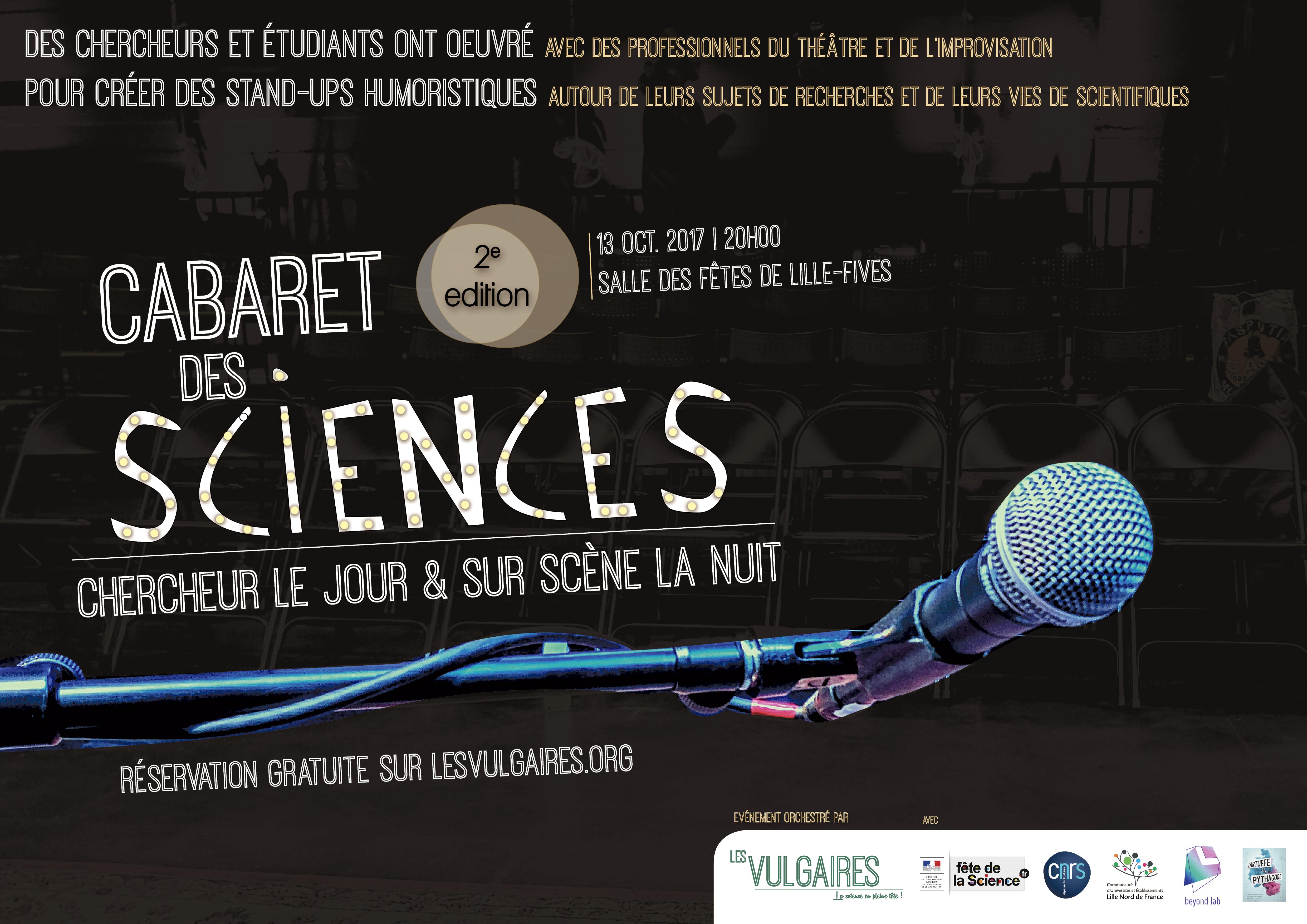 Le cabaret des sciences !