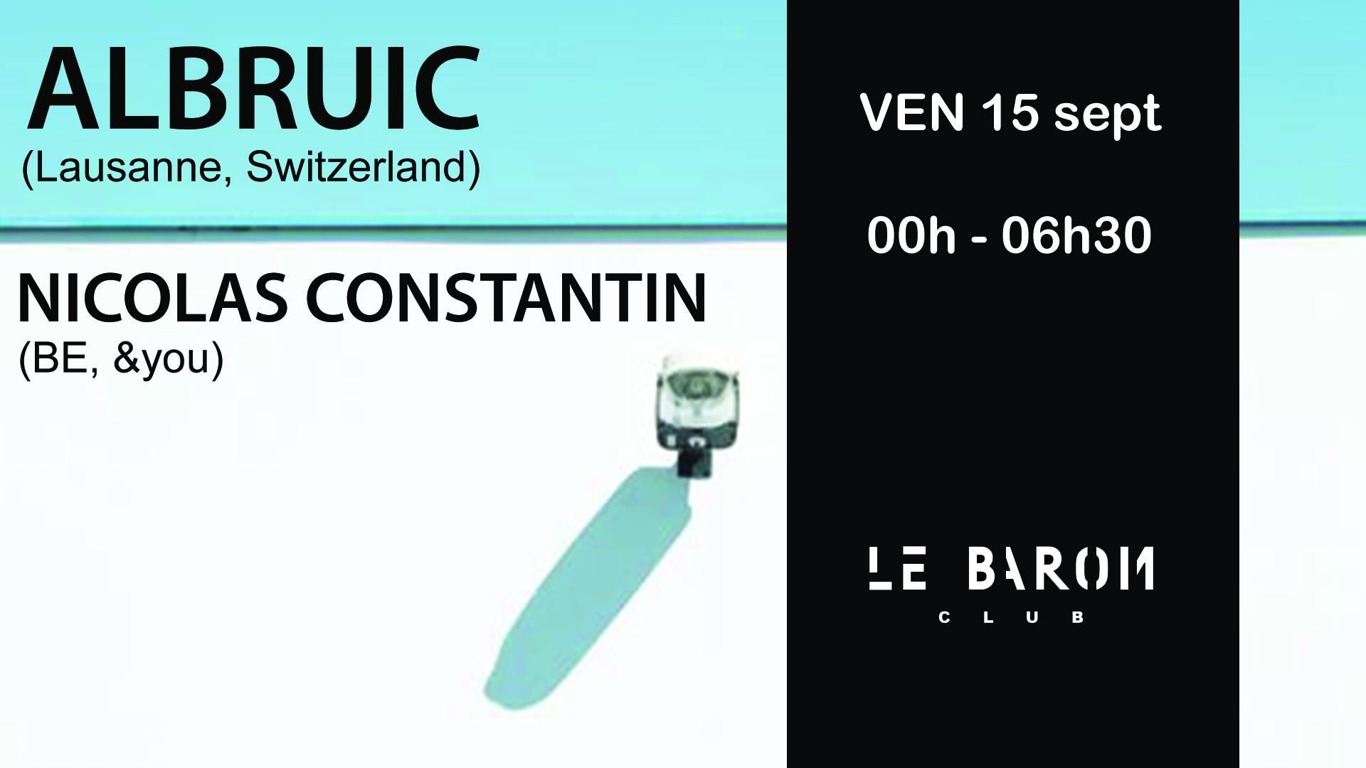 Deep to Techno with Albruic & Nicolas Constantin