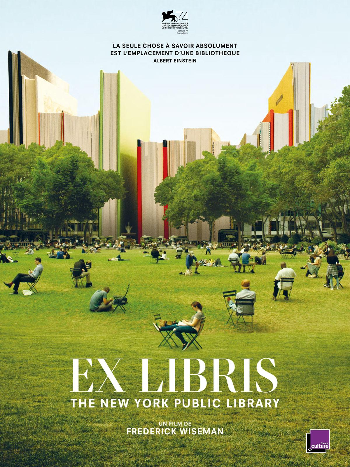Frederick Wiseman, le documentariste américain présente Ex-Libris