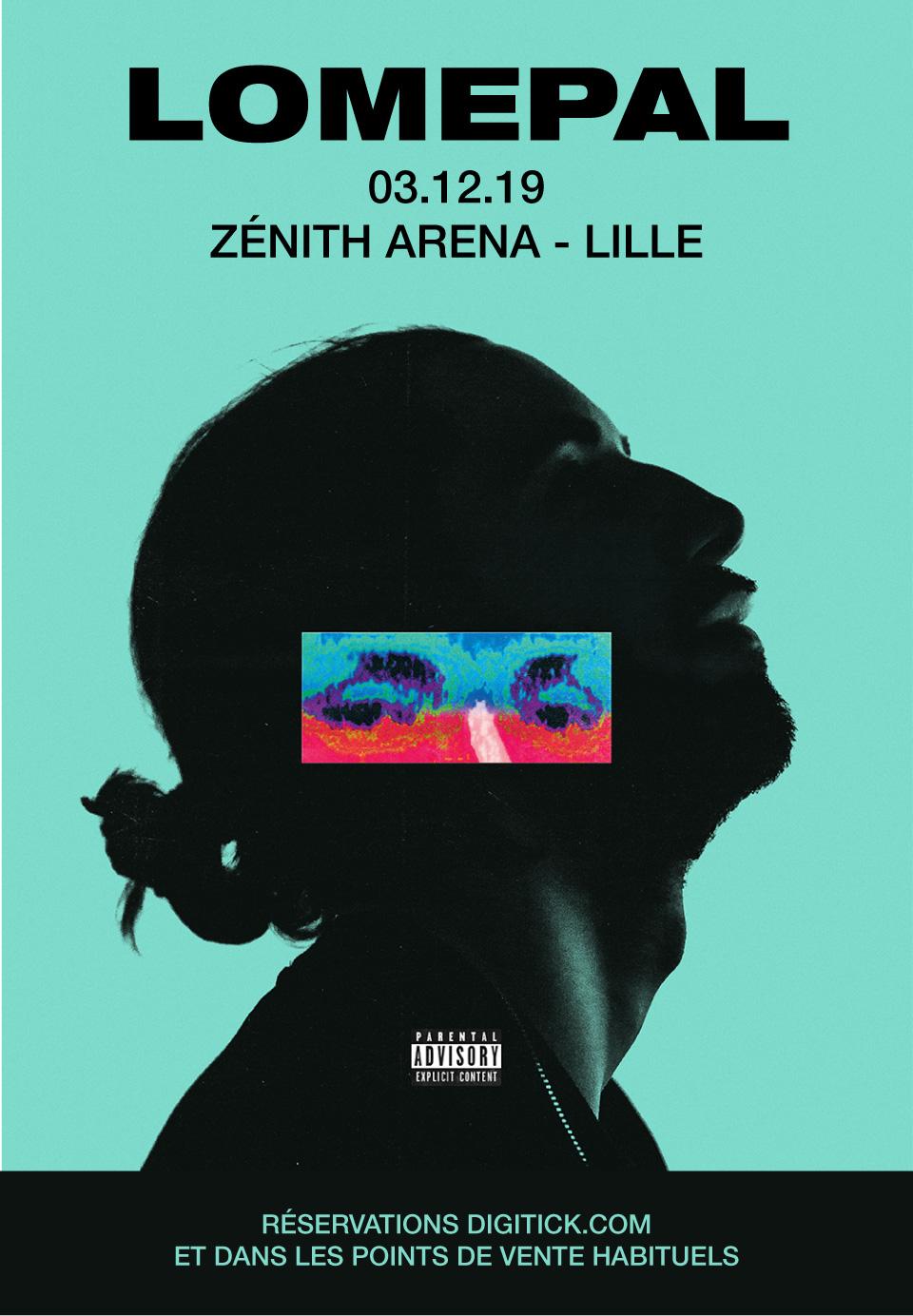 Lomepal au Zénith Arena