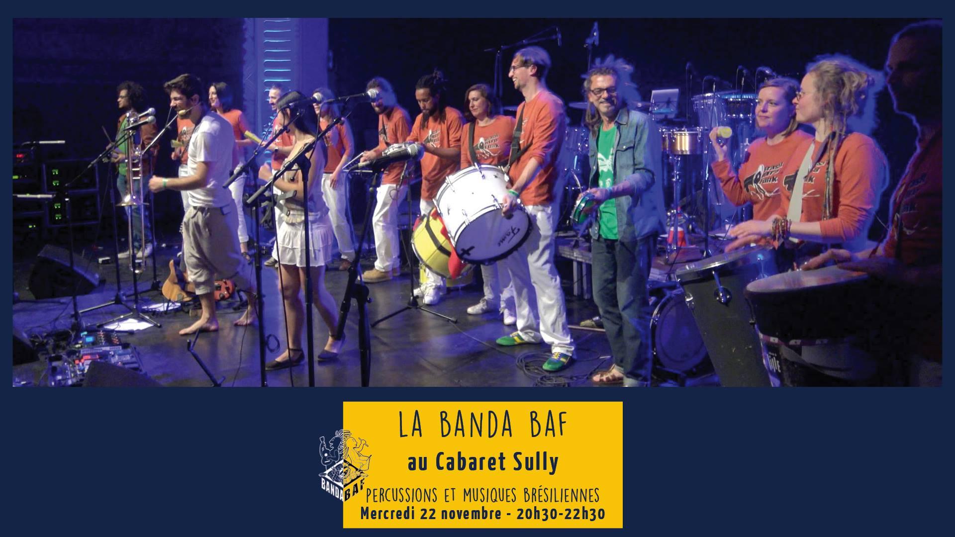 Soirée brésilienne avec la Banda BAF