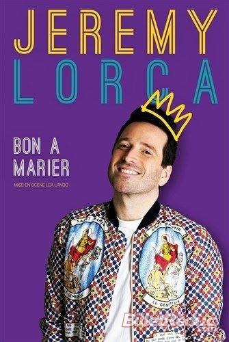 Jérémy Lorca dans Bon à marier