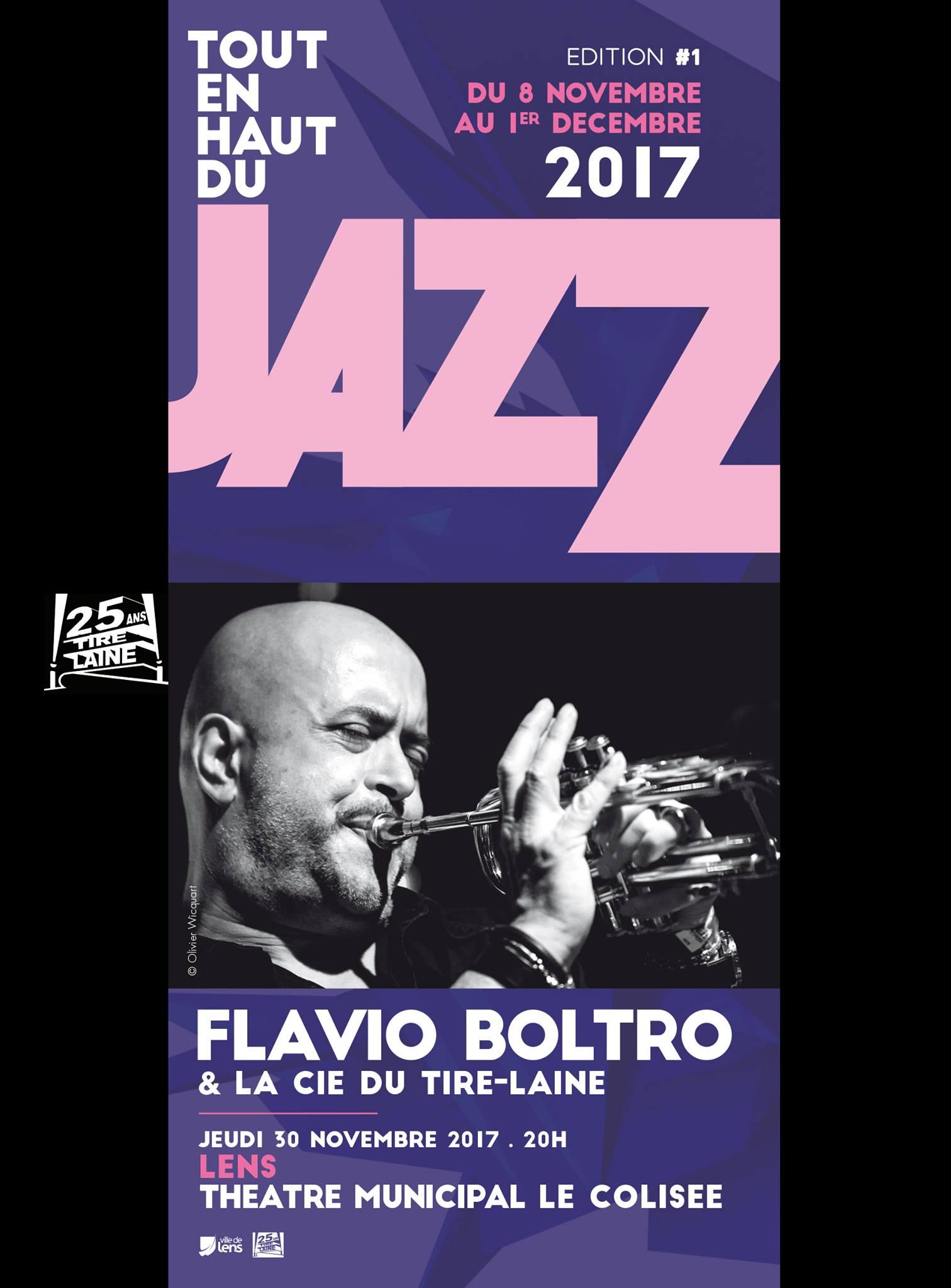 Flavio Boltro & Le jazz-band du Tire-Laine