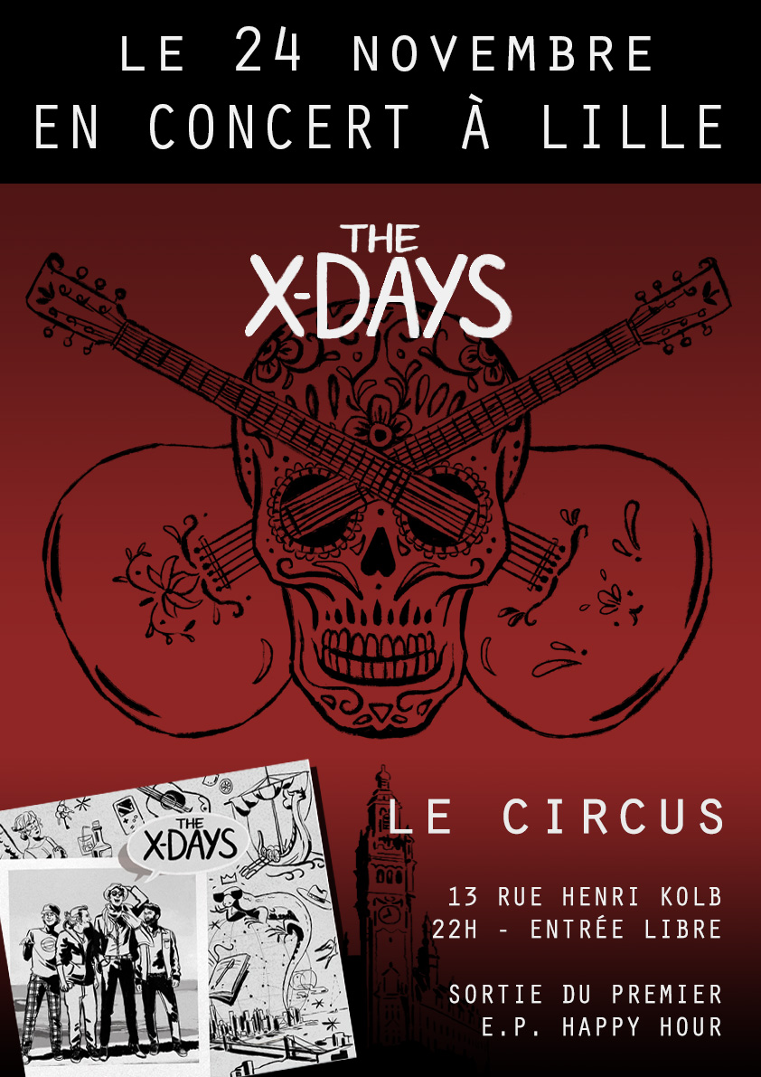 The X-Days : Release Party