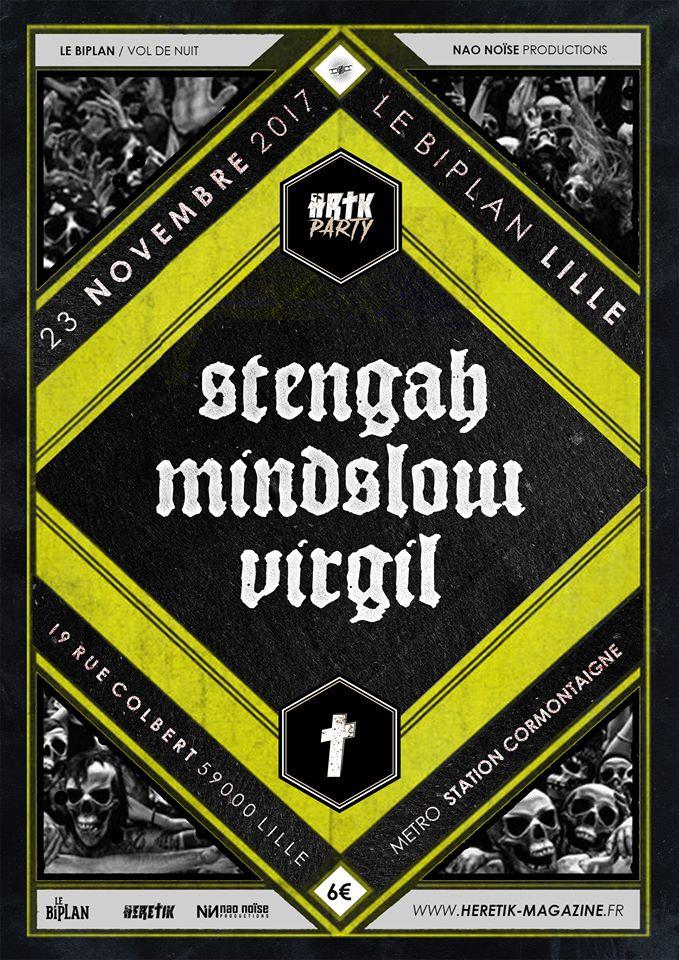 Hrtk Party #2 : Stengah + Mindslow + Virgil