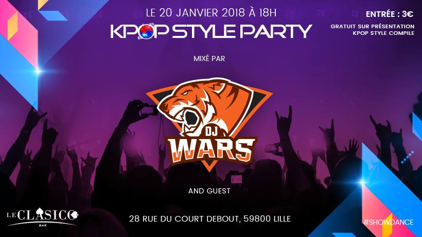 Kpop style party