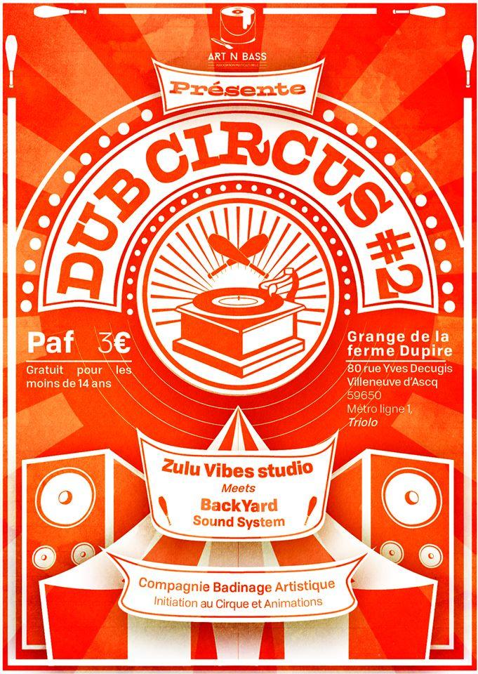 Dub Circus #2 – Backyard Sound System meets Zulu Vibes Studio