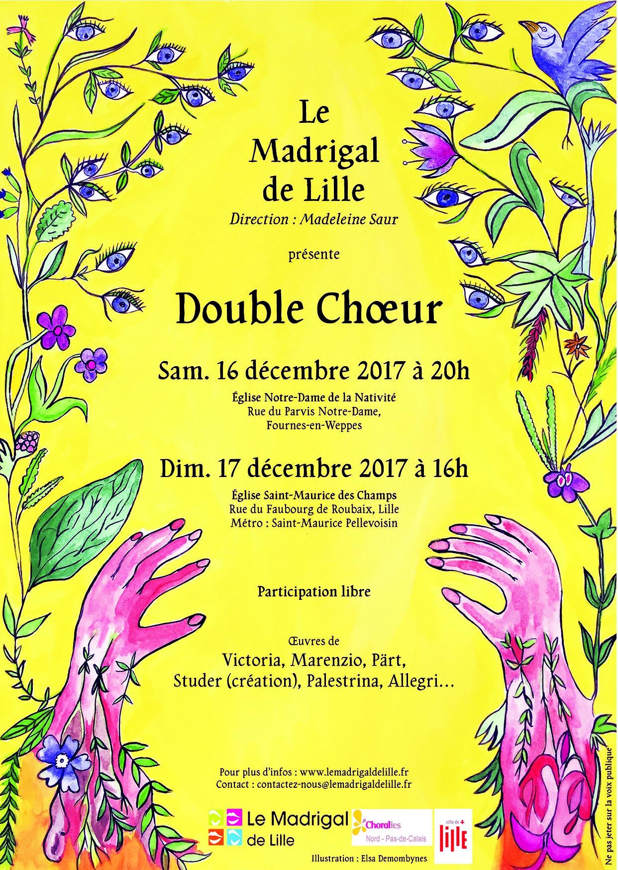Double Choeur du Madrigal de Lille
