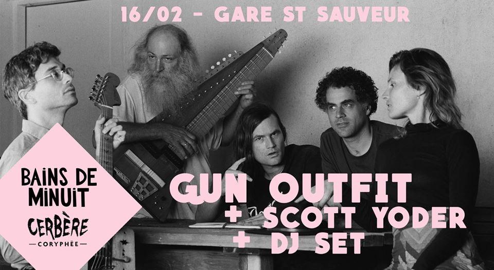 Scott Yoder + Gun Outfit + Dj Set