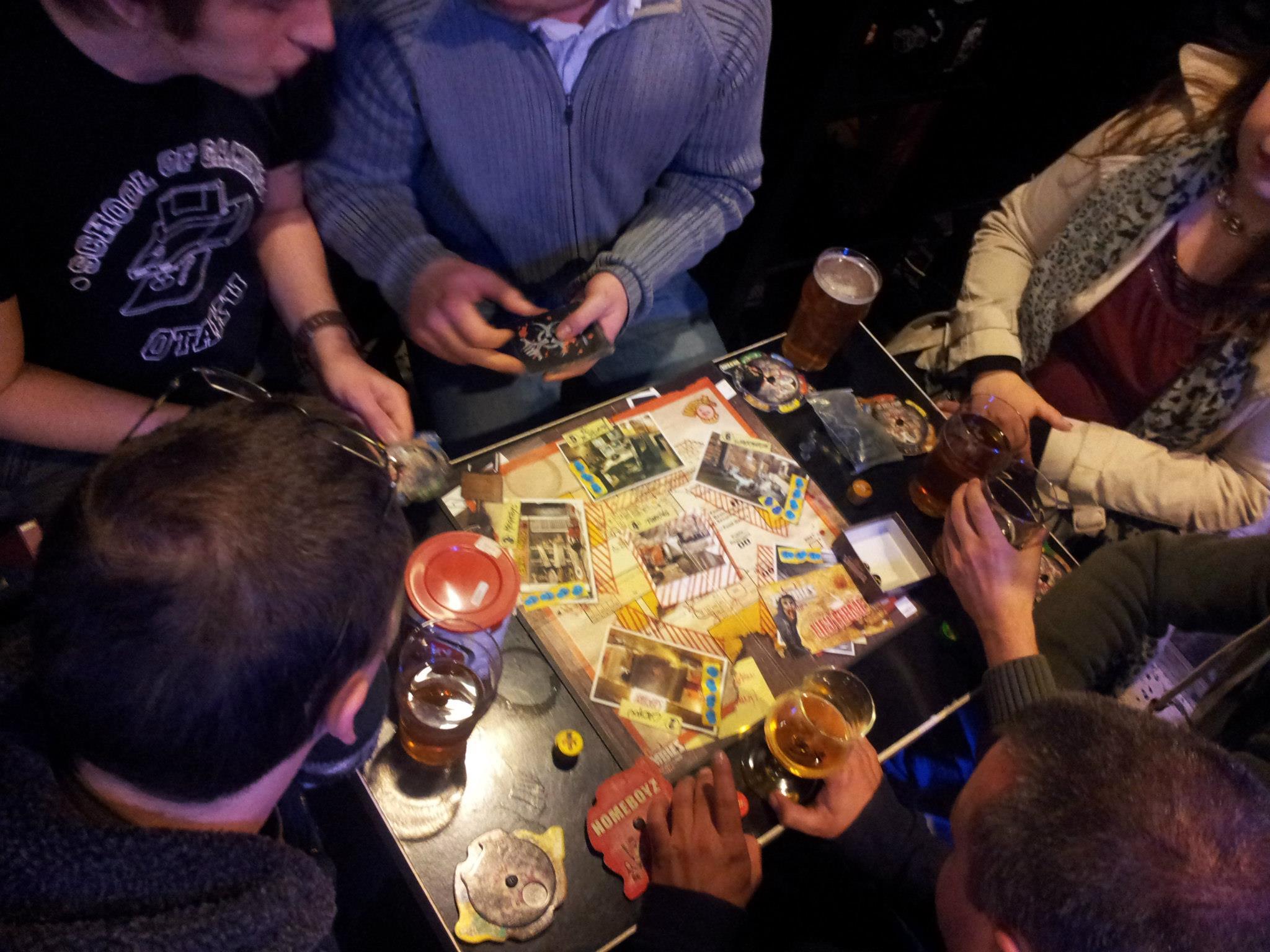 Soirée jeux de société et Fireside Gathering