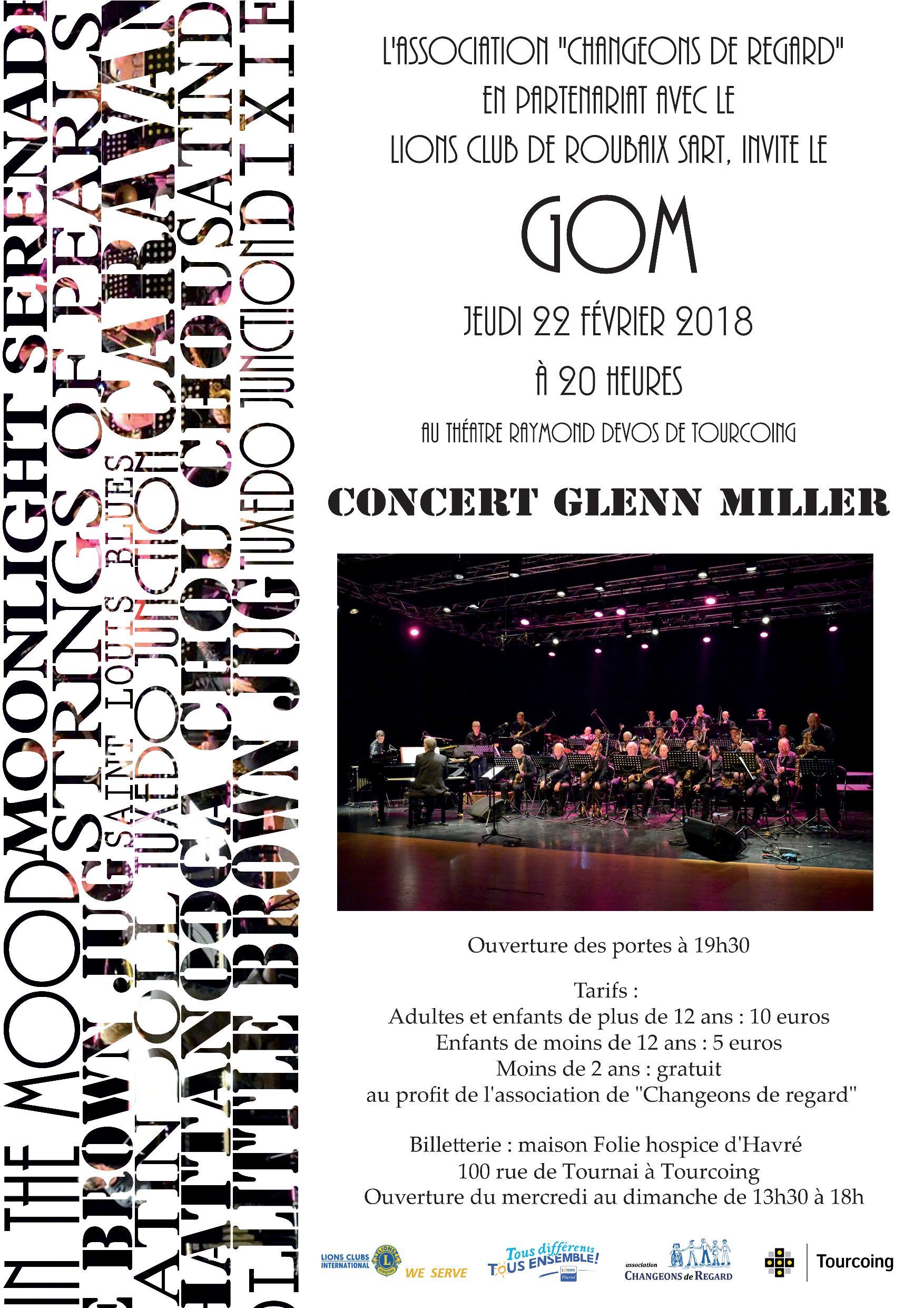 Concert du GOM – Glenn Miller
