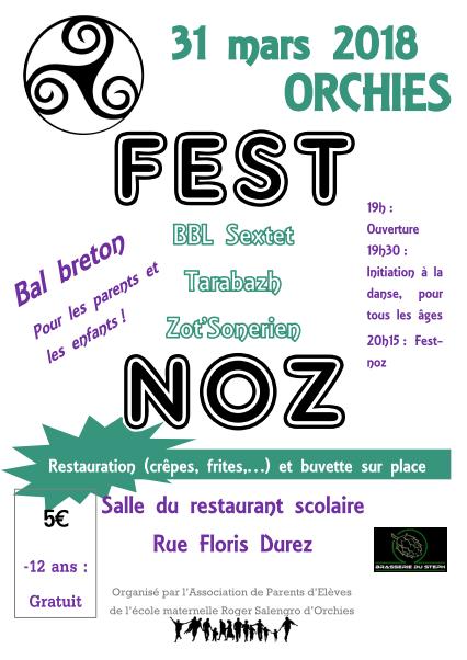 Fest-noz – Bal Breton
