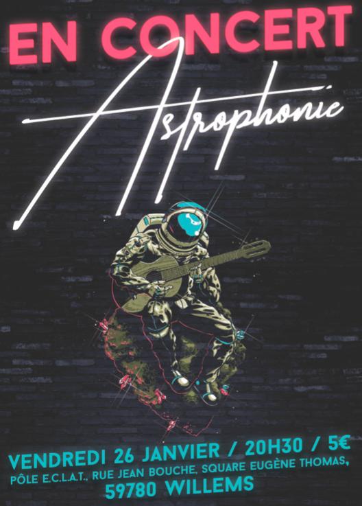 Astrophonie – Concert de sortie d'album